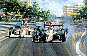 Alan Fearnley: Mansell's Paradise, Formula One