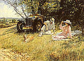Alan Fearnley: The Four of Us, L2 MG Magna