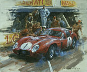 Alan Fearnley: Maserati 450S Coupe 1957