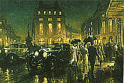 Alan Fearnley: Theatre Night - Picadilly, Rolls Royce Phantom 2, Bentley Speed Six