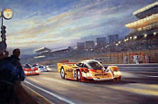 Alan Fearnley: Andrettis at Le Mans