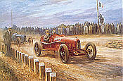 Alan Fearnley: Birth of the Prancing Horse, Enzo Ferrari