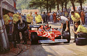 Alan Fearnley: Villeneuve Pit Stop