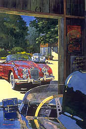 Classic Stable - Jaguar XK120 by Barry Rowe