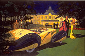 Monaco Elegance - Torpedo Roadster Delahaye by Barry Rowe