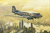 Robert Watts: Flagship over Manhattan, Douglas DC-3