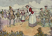 Golf Stiche: Mary Queen of Scots