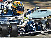 Moments of Magic - Ayrton Senna, Williams-Renault - Hessel Bes