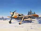Snow Warriors - FW 190 by Nicolas Trudgian